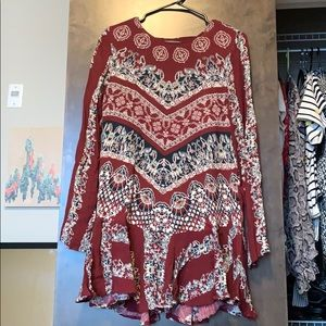 Free People Backless Tunic